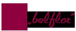Belflor – Blumen und Kränze online bestellen Logo